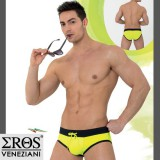 Slip de Bain Push Up Jaune