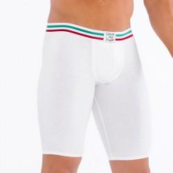 Boxer Cycliste Blanc