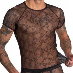 TShirt Noir Transparent