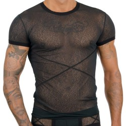 TShirt Transparent Noir